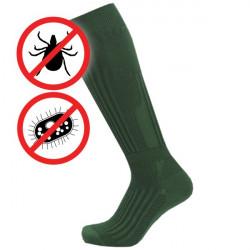 Proti klíšťatům antibakteriální zónové | Podkolenky KNITVA Fish and Hunt