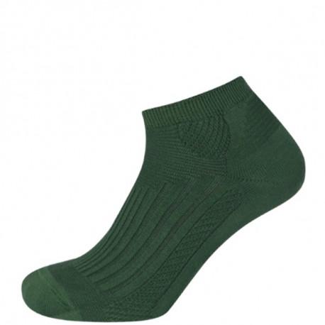 Světle zelená - Chladivé antibakteriální zónové kotníčkové | Ponožky KNITVA Fish and Hunt - Funkční rybářské a myslivecké ponožky v délce po kotníky. Výborné do nízkých sportovních bot. Chladivá úprava Cool efektobsahuje přírodní extrakty, které působí na pokožku nohy příjemně chladivě. Antibakteriální úprava, která obsahujenano částice stříbra,snižuje zápachz propocení aomezuje vznik plísňových onemocnění.