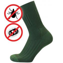 Proti klíšťatům antibakteriální zónové | Ponožky KNITVA Fish and Hunt